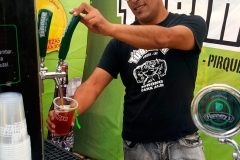 Cerveza Tübinger en el Bierfest Santiago 2016