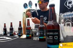 Cerveza Quebrada en el Bierfest Santiago 2016