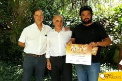 Cerveza Grosse Gerste en premiación de la Guía de la Cerveza en Chile 2017